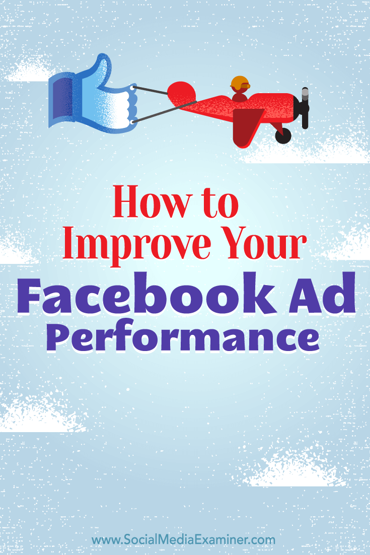 Tips on how to use audience insights to improve your Facebook ad performance.