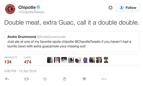 humorous tweet example