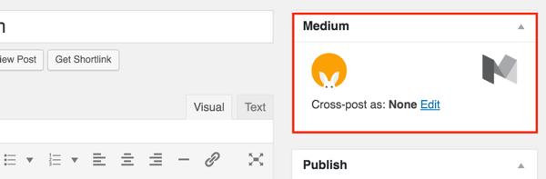 medium wordpress plugin box