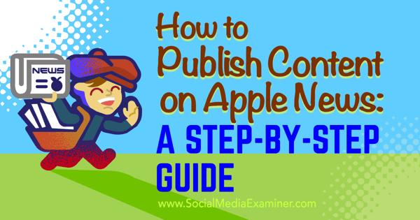 Apple News-Inhalte veröffentlichen