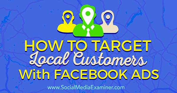 target local prospects with facebook ads