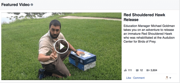facebook native video example