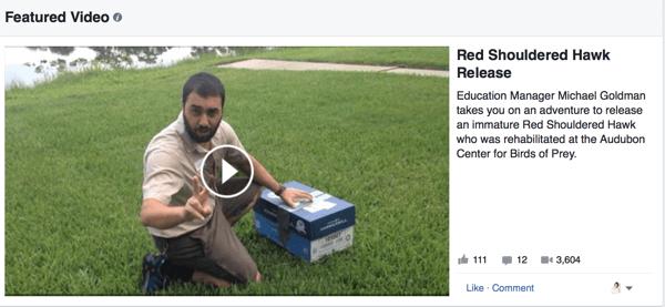 facebook native video example