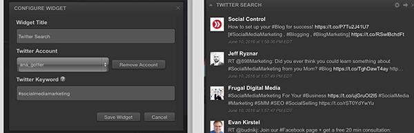 cyfe twitter widget