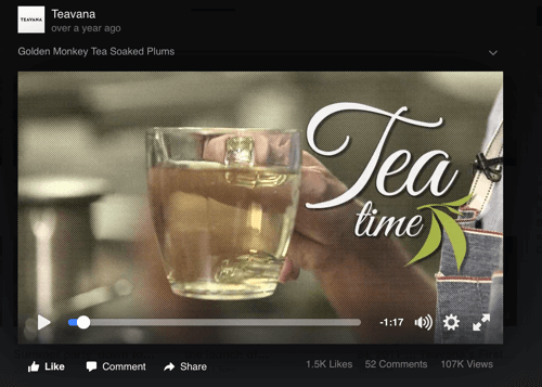 teavana video