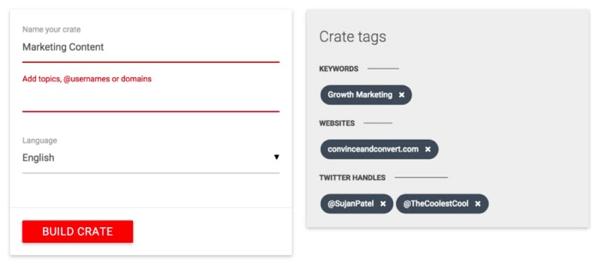 crate social tool
