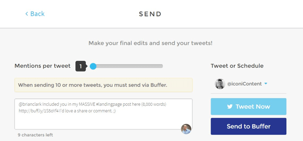 notifier social tool