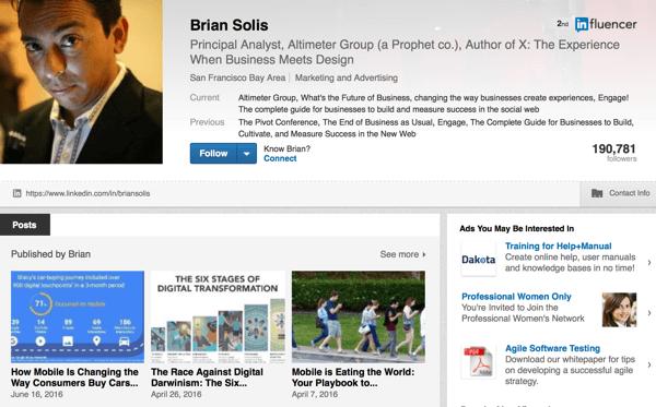 linkedin profile brian solis