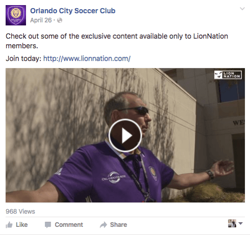 orlando city soccer club facebook
