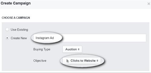 create instagram ad campaign