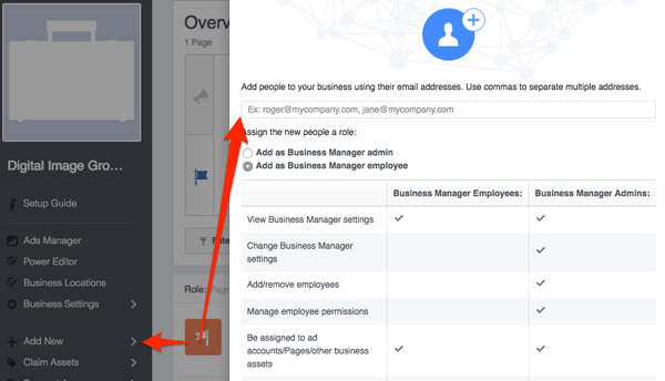 facebook add people to page
