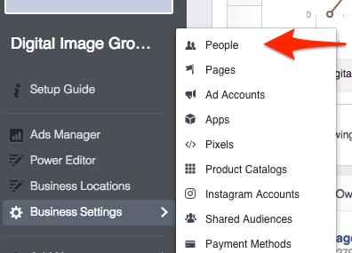 Facebook Rolle wechseln