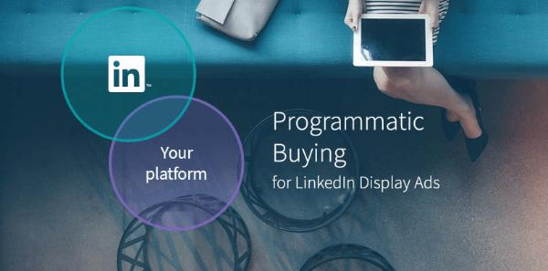 linkedin programmic buying