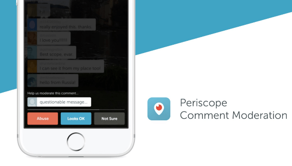 periscope comment moderation