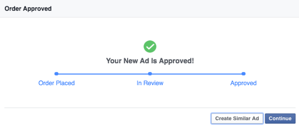 facebook create similar ad