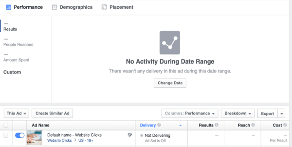 facebook ads analytics