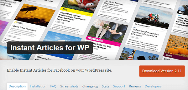 instant articles for wp plugin