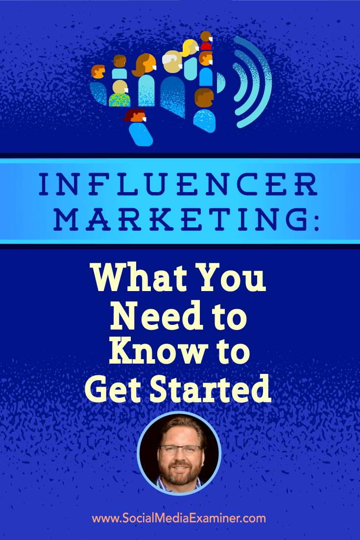 Lee Oden talks with Michael Stelzner about influencer marketing and what you need to know to get started.