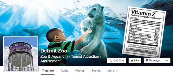facebook cover photo detroit zoo