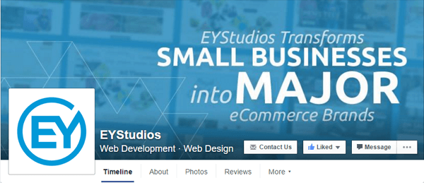 facebook cover photo eystudios
