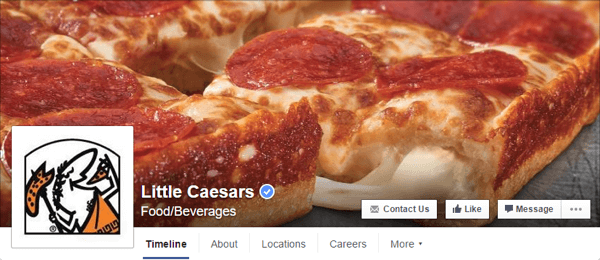 facebook cover photo little ceasars