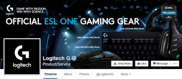 facebook cover photo logitech