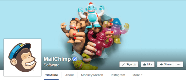 facebook cover photo mailchimp
