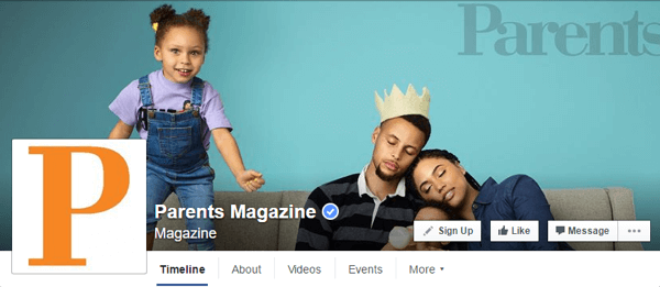 facebook cover photo parents magazine