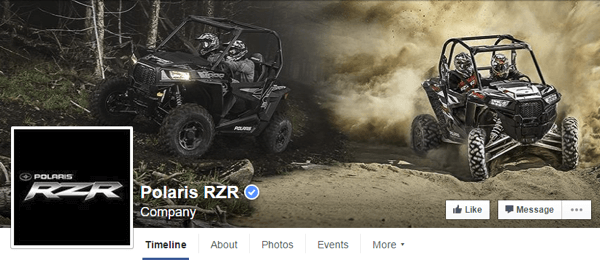 facebook cover photo polaris rzr
