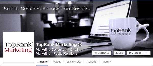 facebook cover image toprank marketing
