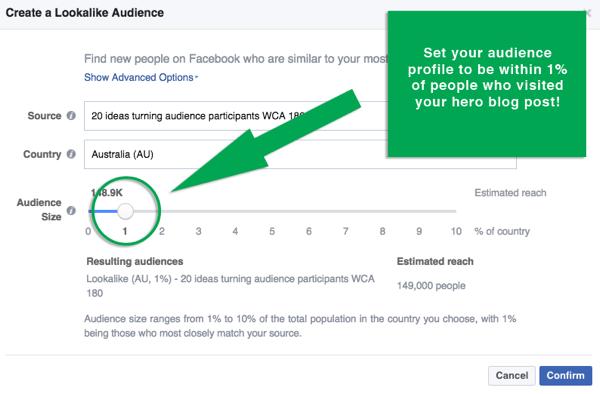 facebook create lookalike audience