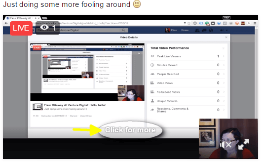 facebook live view comments on desktop