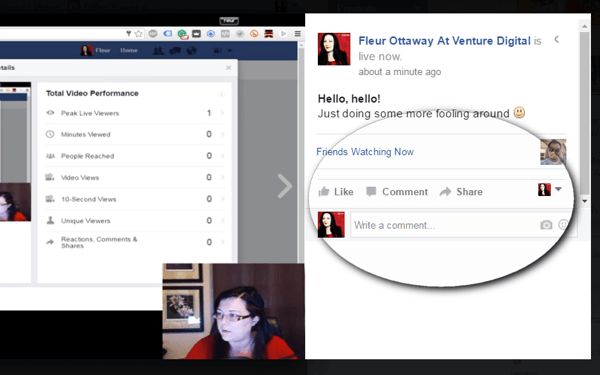 facebook live view comments on desktop