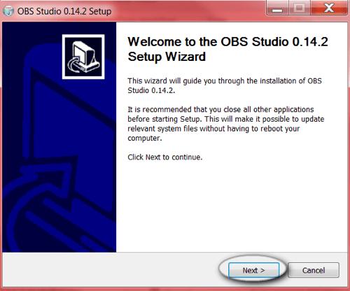 obs studio install