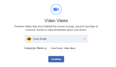 promote video on facebook