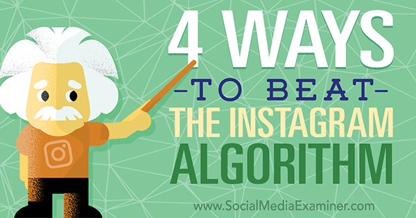 tactics to use with instagram algorithm changes
