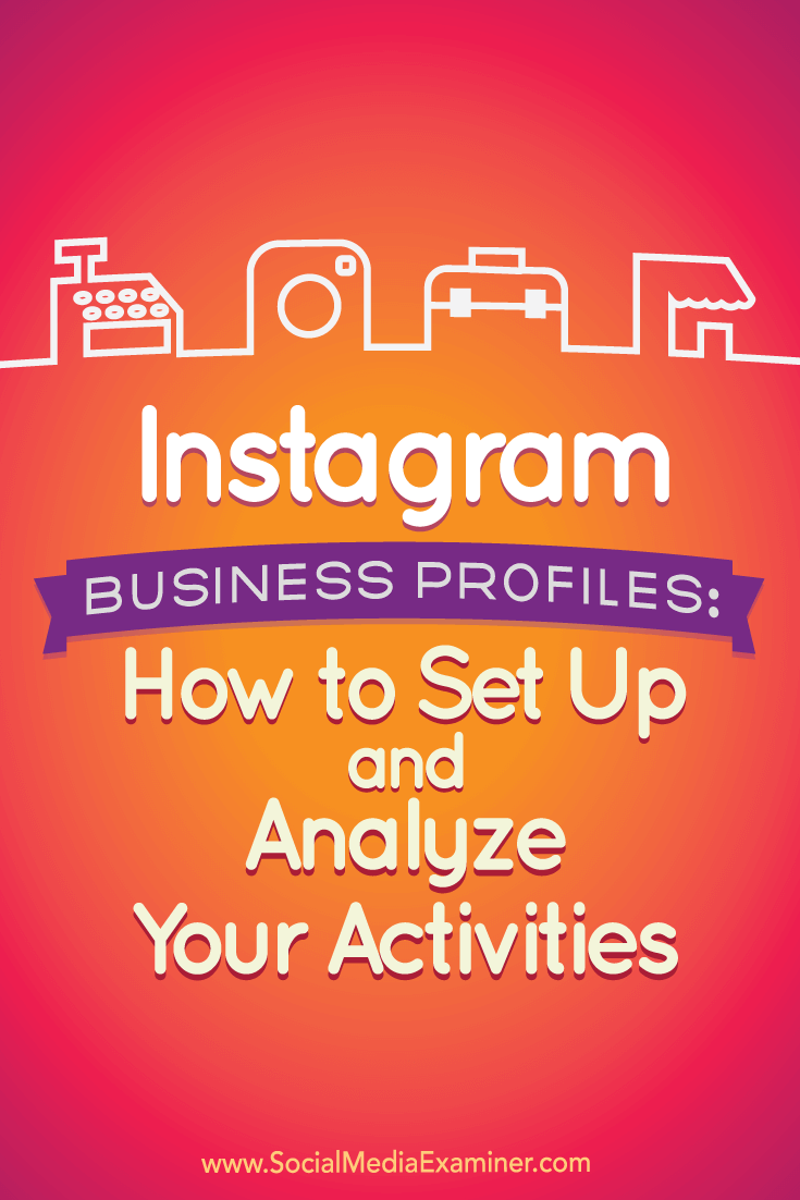 Tips on how to set up and analyze the new Instagram business profiles.