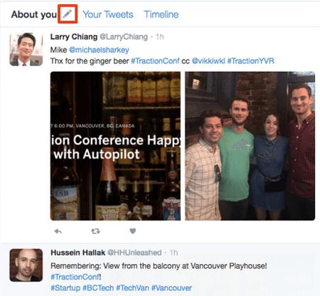 twitter dashboard track hashtag