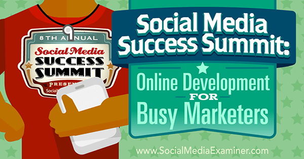 find out where successful online marketers get their training