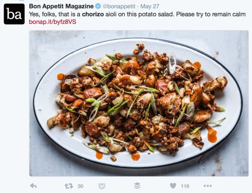 bon appetit twitter