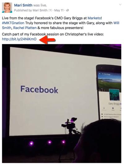 facebook live engagement