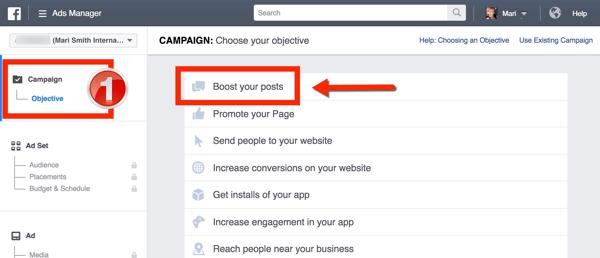 facebook live video boost
