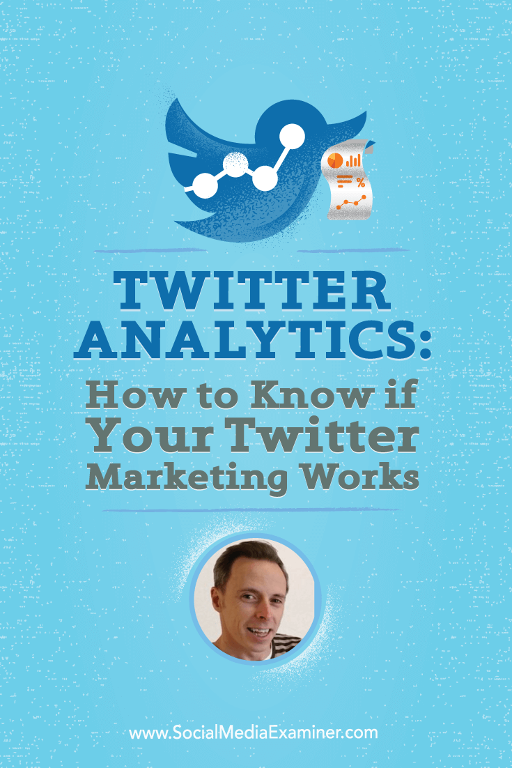 Ian Cleary talks with Michael Stelzner about Twitter analytics and how to know if your Twitter marketing works.