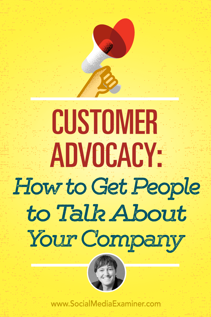 Joey Coleman talks with Michael Stelzner about customer advocacy and how to get people to talk about your company.