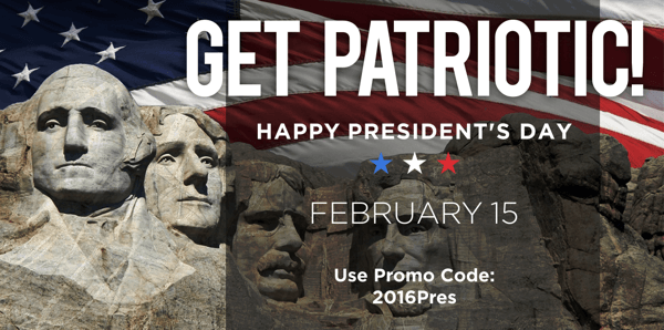 presidents day social post example