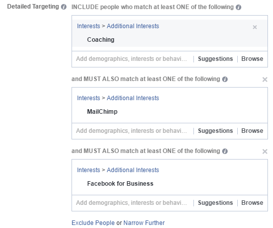 facebook ads layer interests