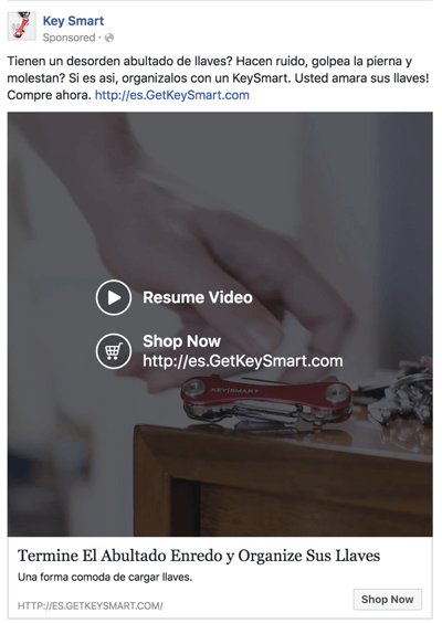 facebook video squared links