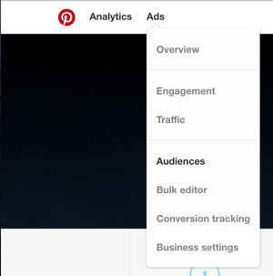 pinterest ads create custom audience