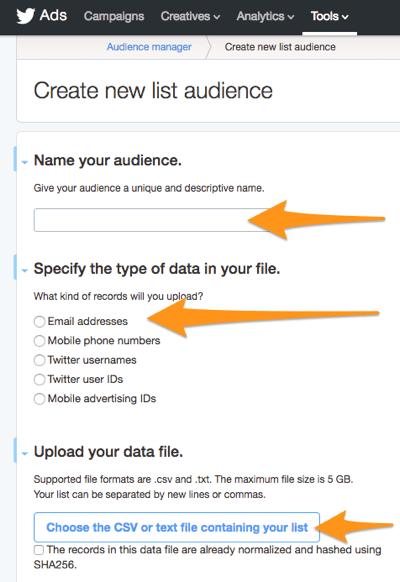 Twitter-Anzeigen schaffen neue Listenpublikum