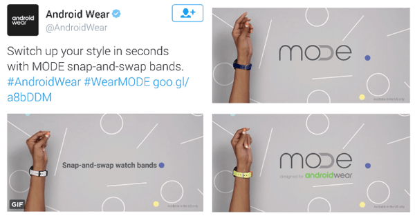 android wear twitter video ad